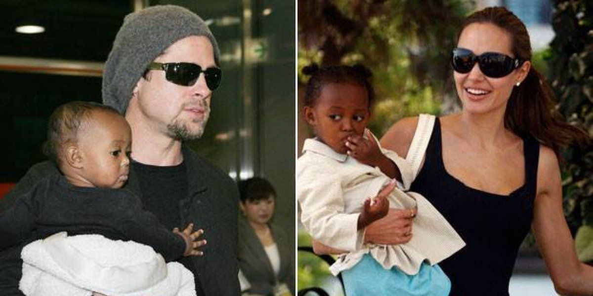Son la nueva pareja de Hollywood Brad Pitt y Charlize Theron