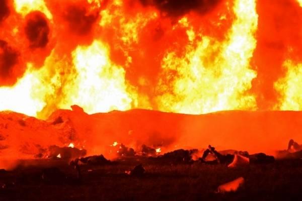 Explosión combustible México