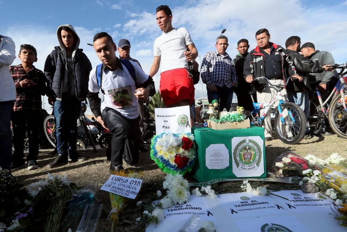 Homenaje a los fallecidos en el atentado