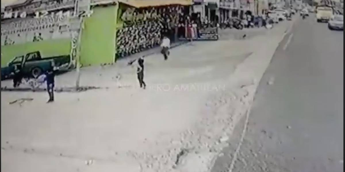 VIDEO. Dispara contra un hombre en San Miguel Petapa y es capturado