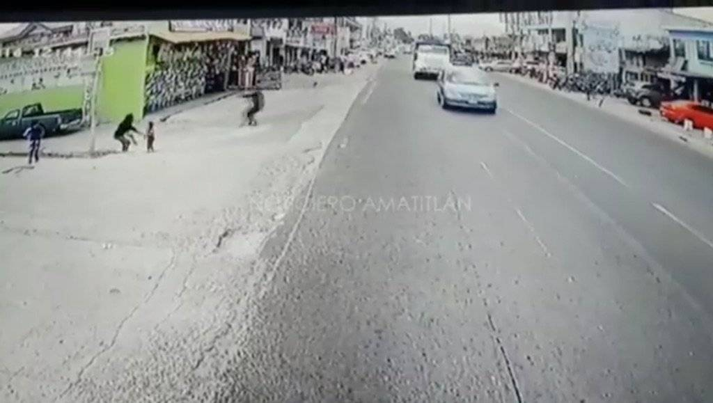 Hombre disparó en San Miguel Petapa contra una persona. Foto: Facebook