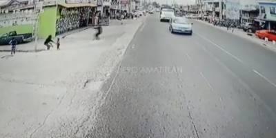 Hombre disparó en San Miguel Petapa contra una persona.