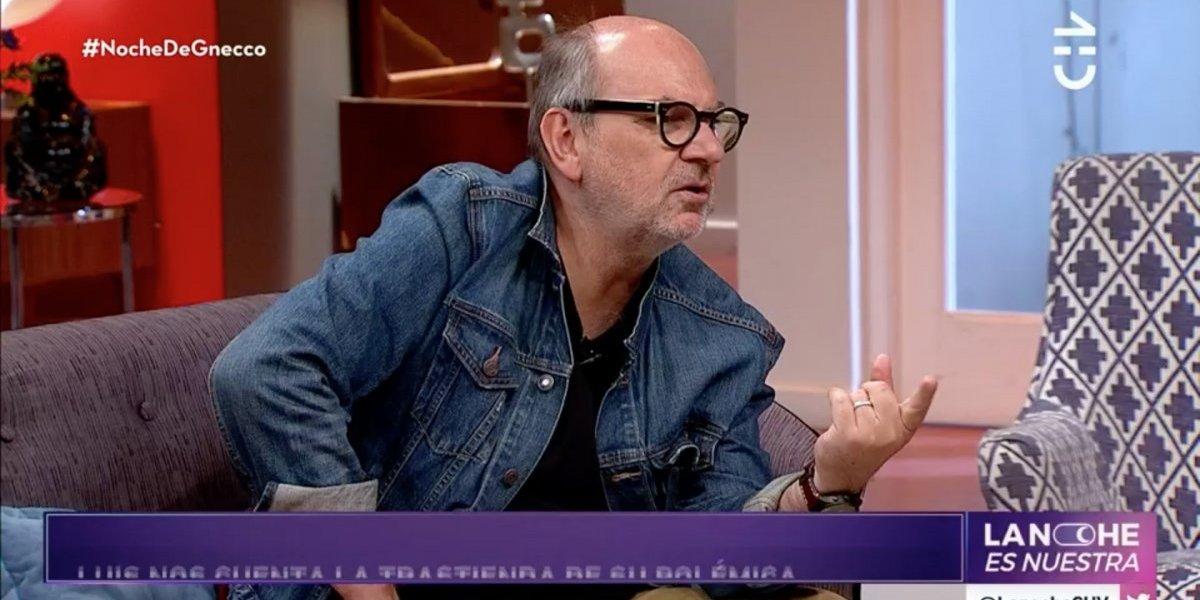 Luis Gnecco explica el verdadero motivo por el que se disculpó con Paty Maldonado y Raquel Argandoña