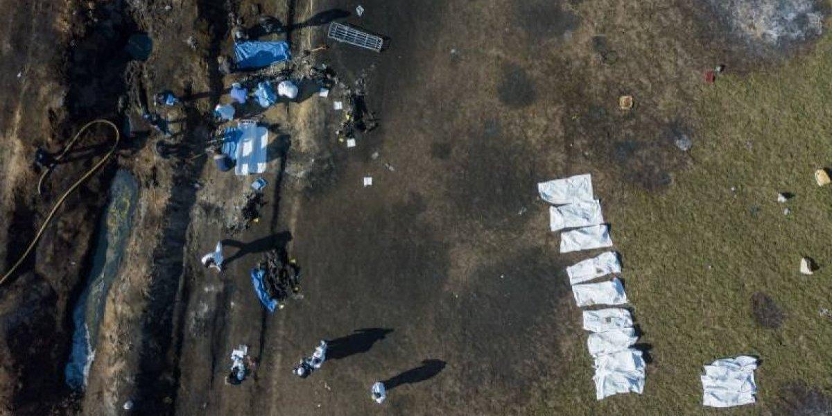 VIDEO. Luto y olor a gasolina en Tlahuelilpan tras explosión de ducto