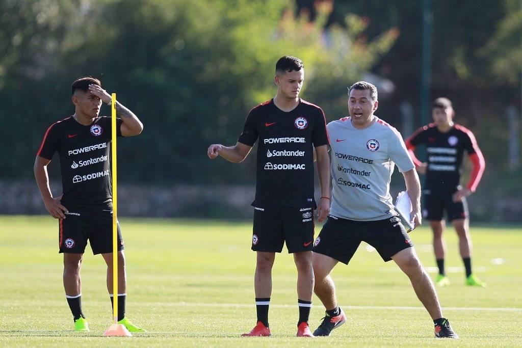 Vicente Fernández se encuentra trabajando con la Roja Sub 20. Aún no coincide con Gustavo Quinteros en la UC / Foto: Carlos Parra-ANFP