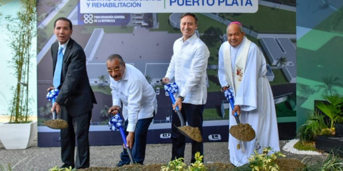 Inician trabajos de ampliación y reconstrucción de cárcel de Puerto Plata