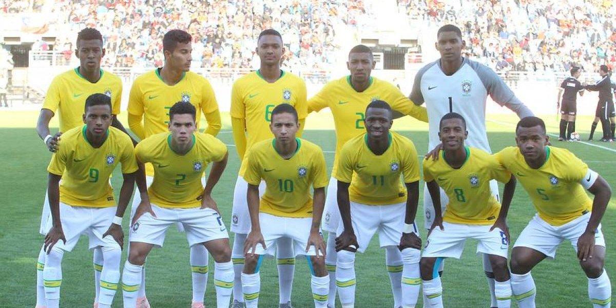 Así vivimos el deslucido debut de Brasil en el Sudamericano Sub 20