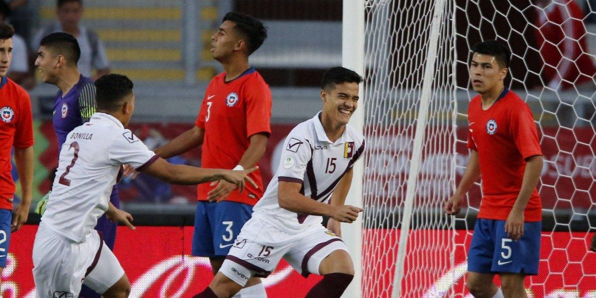 Así vivimos el papelón de Chile ante Venezuela en el Sudamericano Sub 20