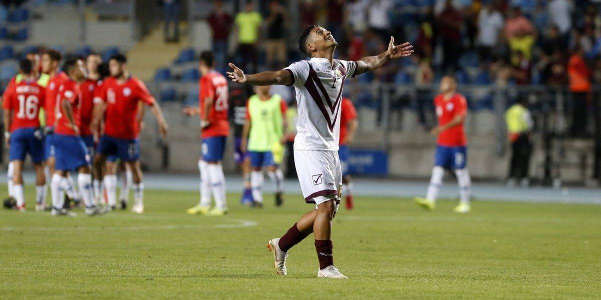 Venezuela volvió a ganarle a Chile en un Sudamericano Sub 20 después de 22 años