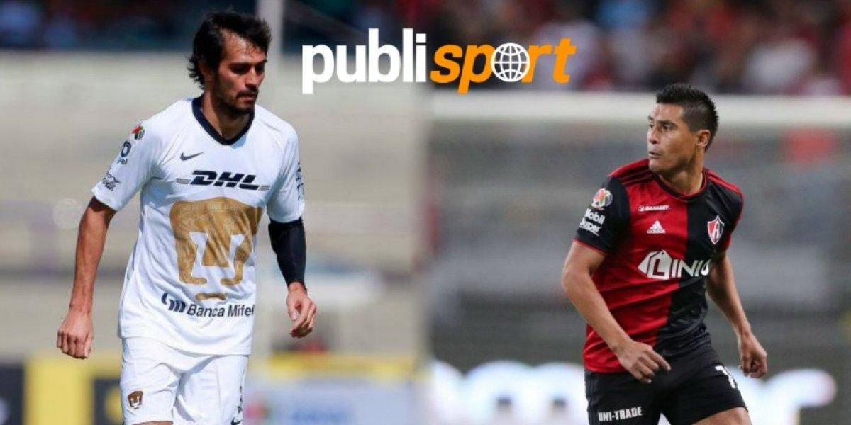 Pumas empató ante Atlas en la jornada 3 del Clausura 2019