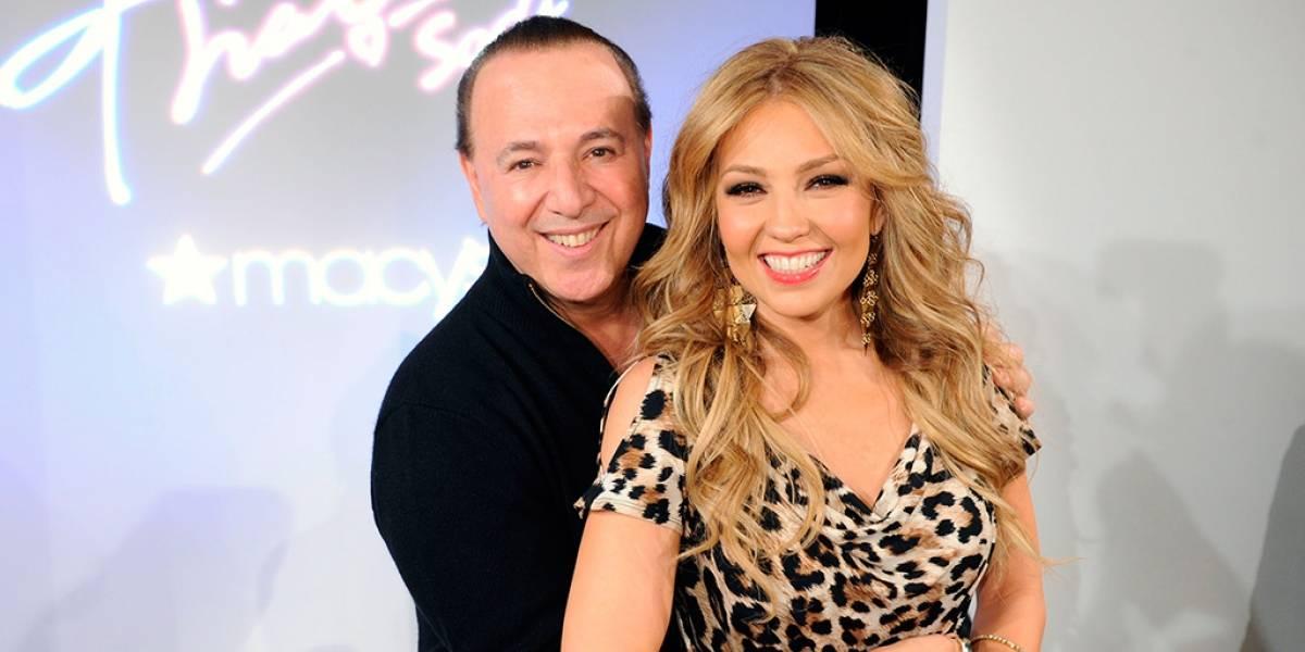 Por una foto, acusan al esposo de Thalía de abusar de las cirugías plásticas