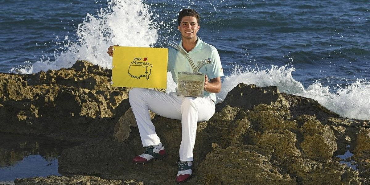 Mexicano Ortiz gana torneo y consigue pase al Masters de Augusta