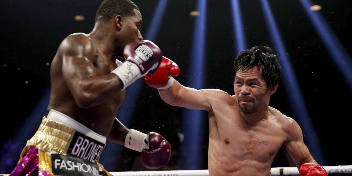 Manny Pacquiao retiene título de peso welter con decisión unánime sobre Adrien Broner