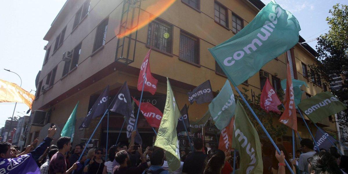 Comunes: El nuevo partido del Frente Amplio que comienza con doce militantes