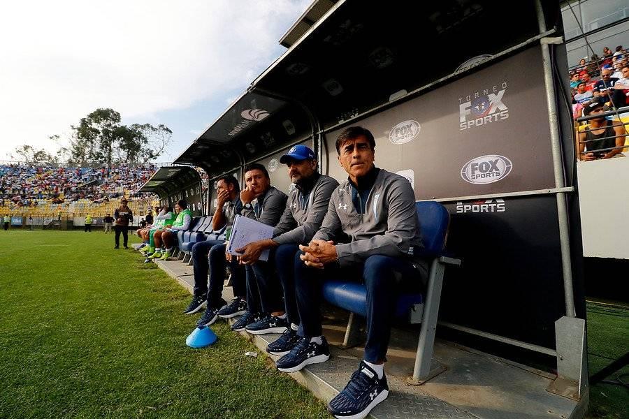 Quinteros tuvo su estreno en sociedad en la UC ante Everton en Viña del Mar / Foto: Agencia UNO