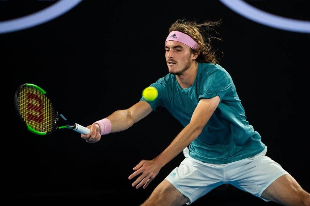 Stefanos Tsitsipas eliminó a Roger Federer del Abierto de Australia 2019 / Foto: Getty Images