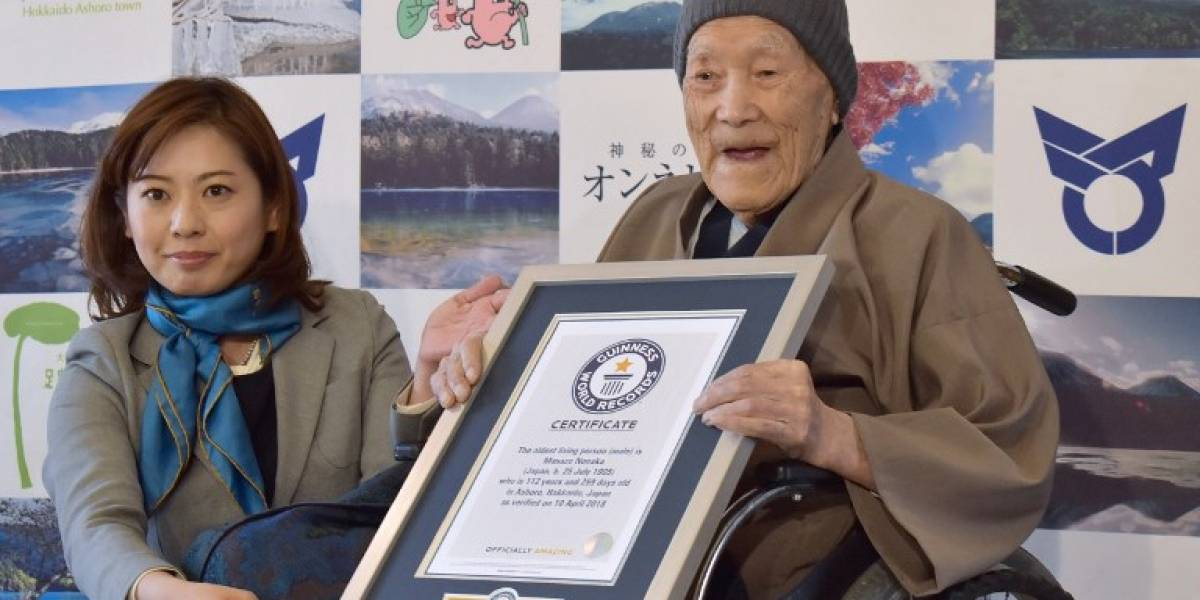 A los 113 años murió el hombre más longevo del mundo