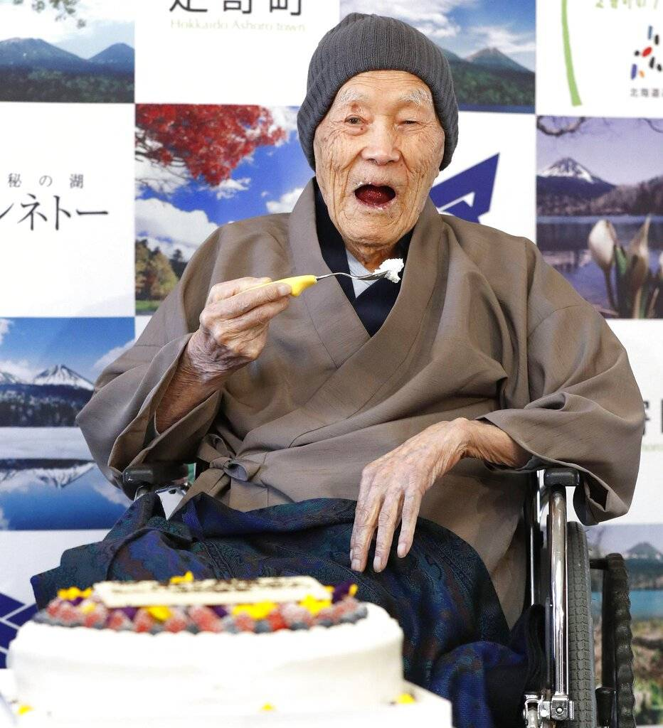 Falleció el hombre más viejo del mundo