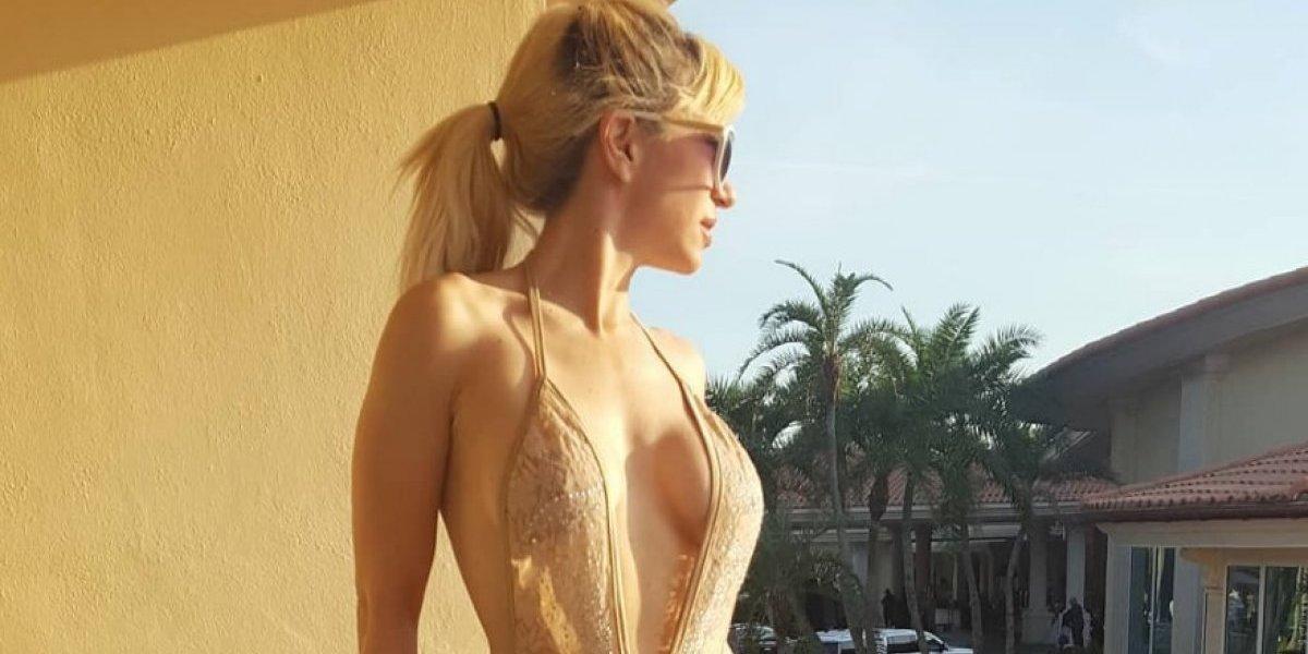 Noelia prende las redes con sensuales fotos en topless