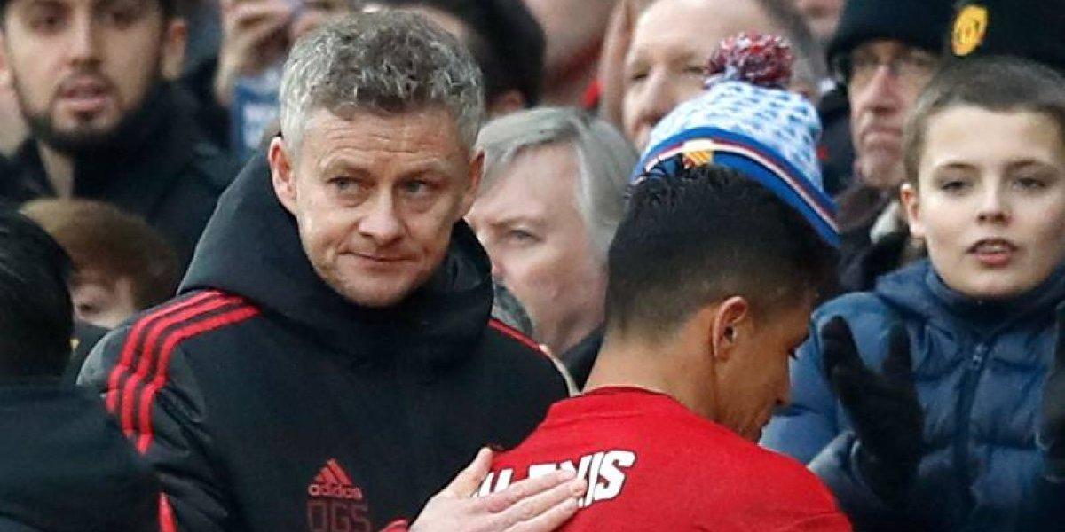 """Solskjaer sin anestesia: """"Alexis necesitaba irse, Manchester United realmente no funcionó para él"""""""