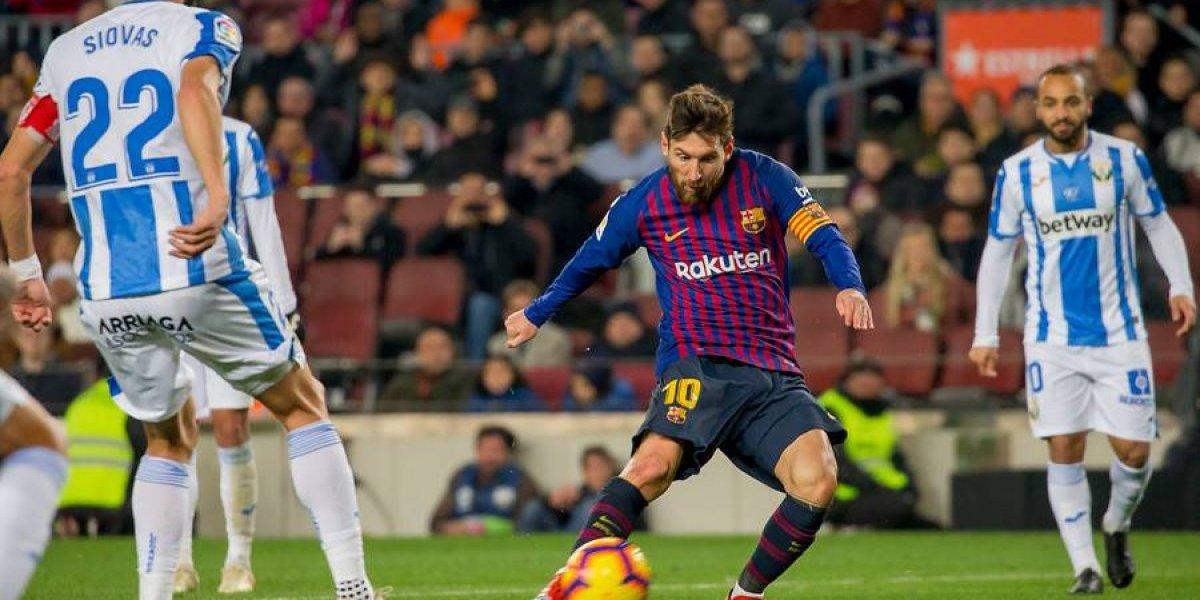 Barcelona no necesitó a Vidal para vencer a Leganés