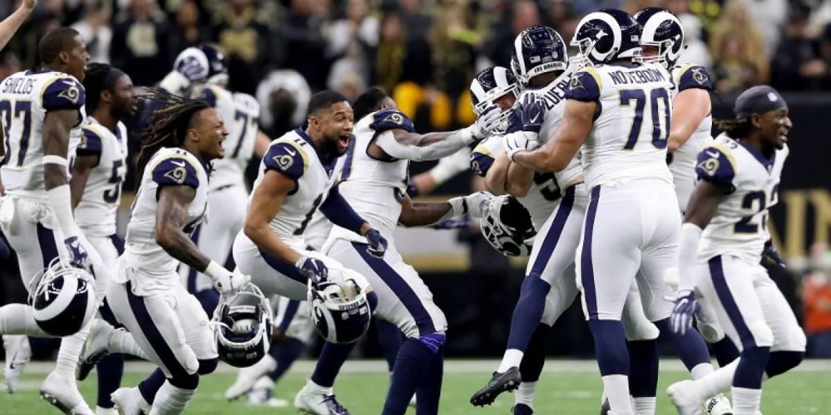 VIDEO. Los Rams vencen a los Saints en la prórroga y jugarán el Super Bowl 2019
