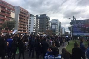 Marcha reclama a policías por femicidio de Diana
