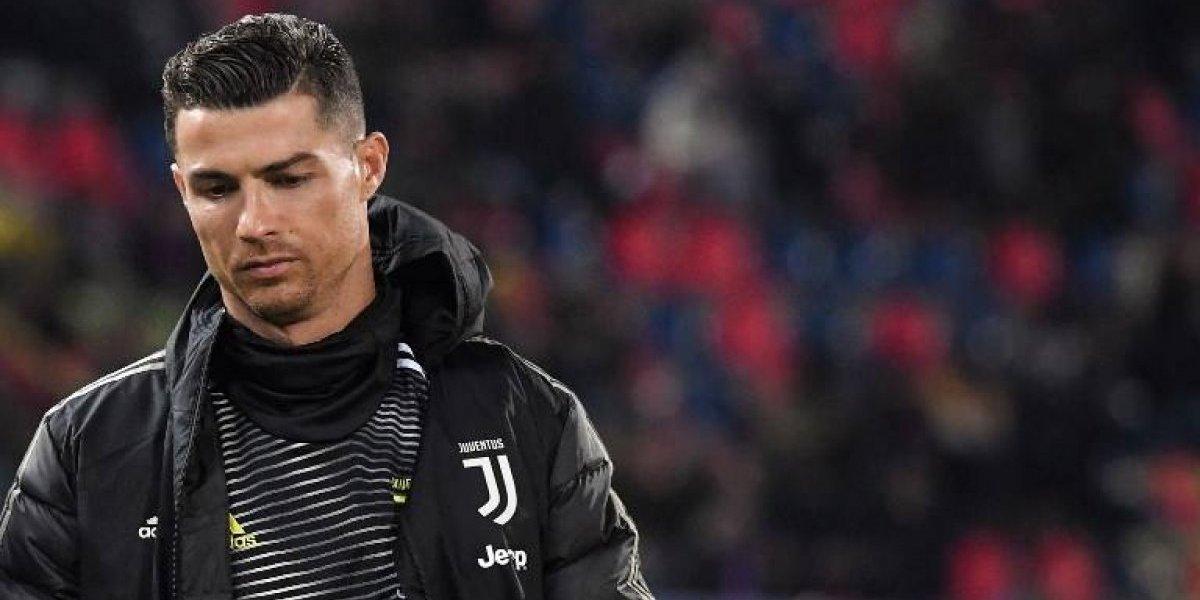 Cristiano Ronaldo falló su primer penal en la Serie A — Juventus