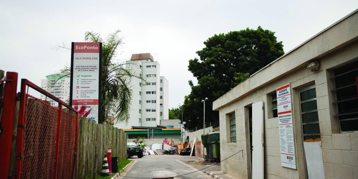 Ritmo de obras de ecoponto em São Paulo é o mesmo de doze anos atrás