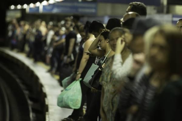 metrô estação sé plataforma linha azul