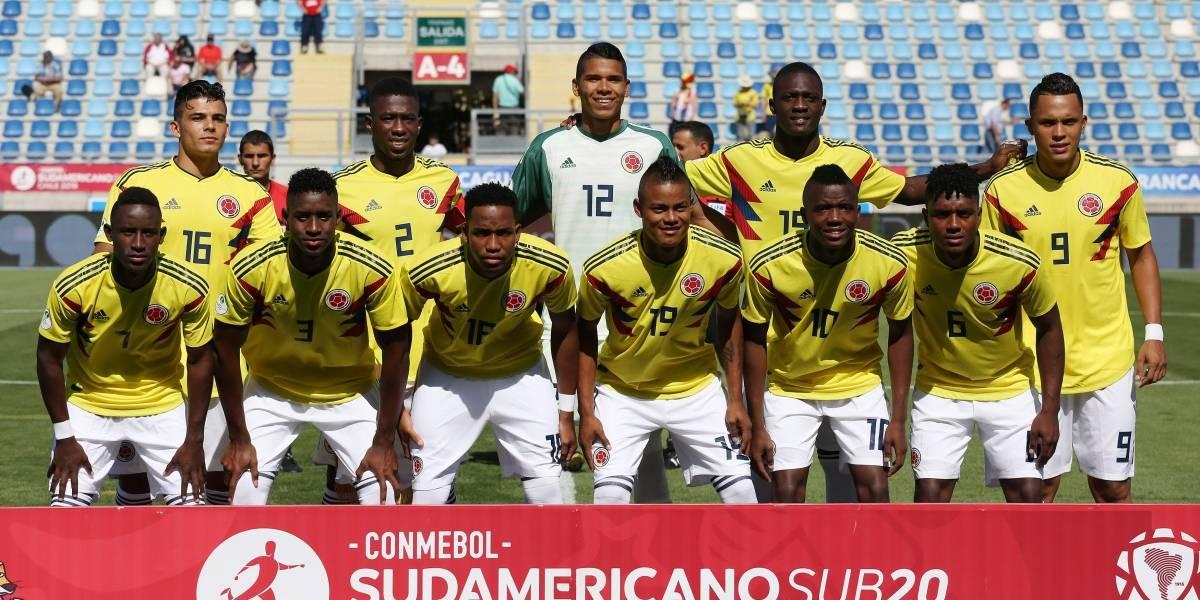 ¡Hagamos cuentas! La Selección Colombia Sub 20 saca la calculadora para clasificar