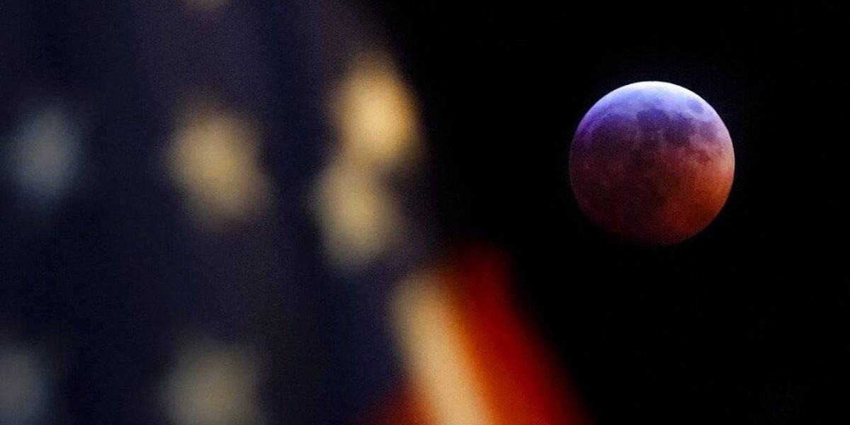 """Eclipse total de Luna 2019: Así se vio la """"Superluna de Sangre"""" en los cielos del país"""