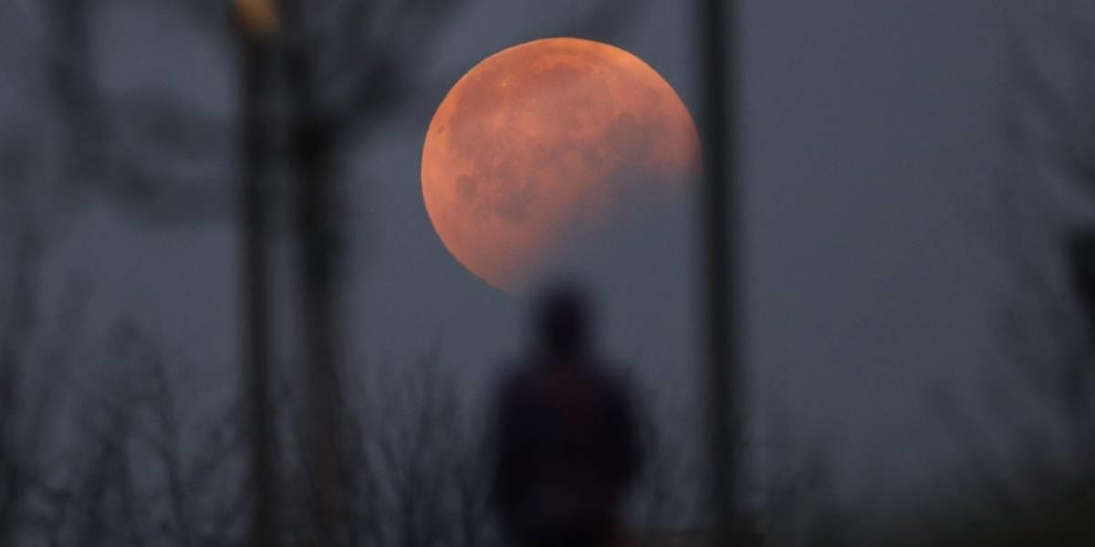 """Así se vio la """"Luna de Sangre"""" alrededor del mundo"""