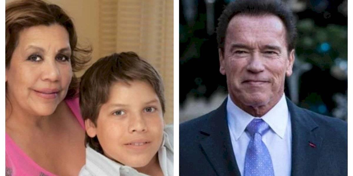 FOTOS. ¡Lo logra! Hijo de Arnold Schwarzenegger con una guatemalteca es idéntico a él