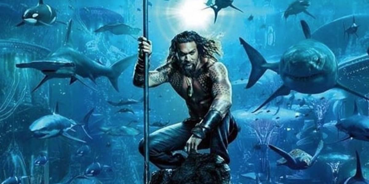 Aquaman alcanza récord de taquilla a nivel mundial
