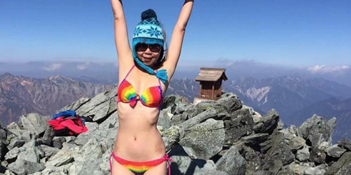Se dedicaba a escalar montañas en bikini pero su oficio le pasó la cuenta: murió congelada tras caer a un precipicio
