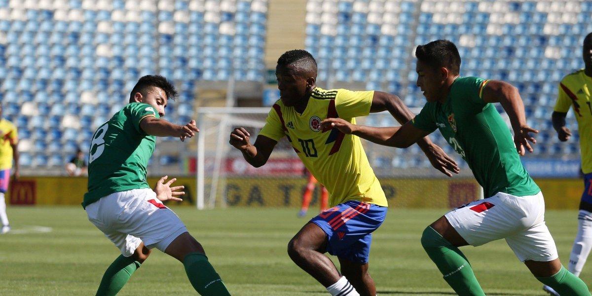 ¡Desahogo! Colombia anotó un gol y por fin ganó en el Sudamericano Sub 20
