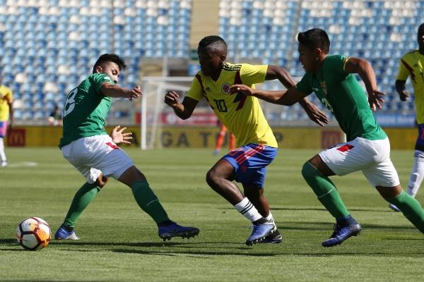 Video de los goles Colombia vs Bolivia sudamericano sub 20