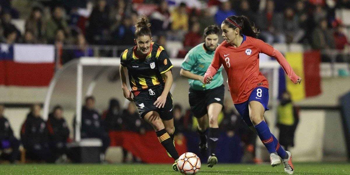 La Roja femenina sumó otro revés en su preparación para el Mundial y cayó en penales ante Cataluña
