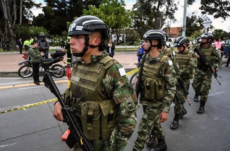 Atentado en Colombia