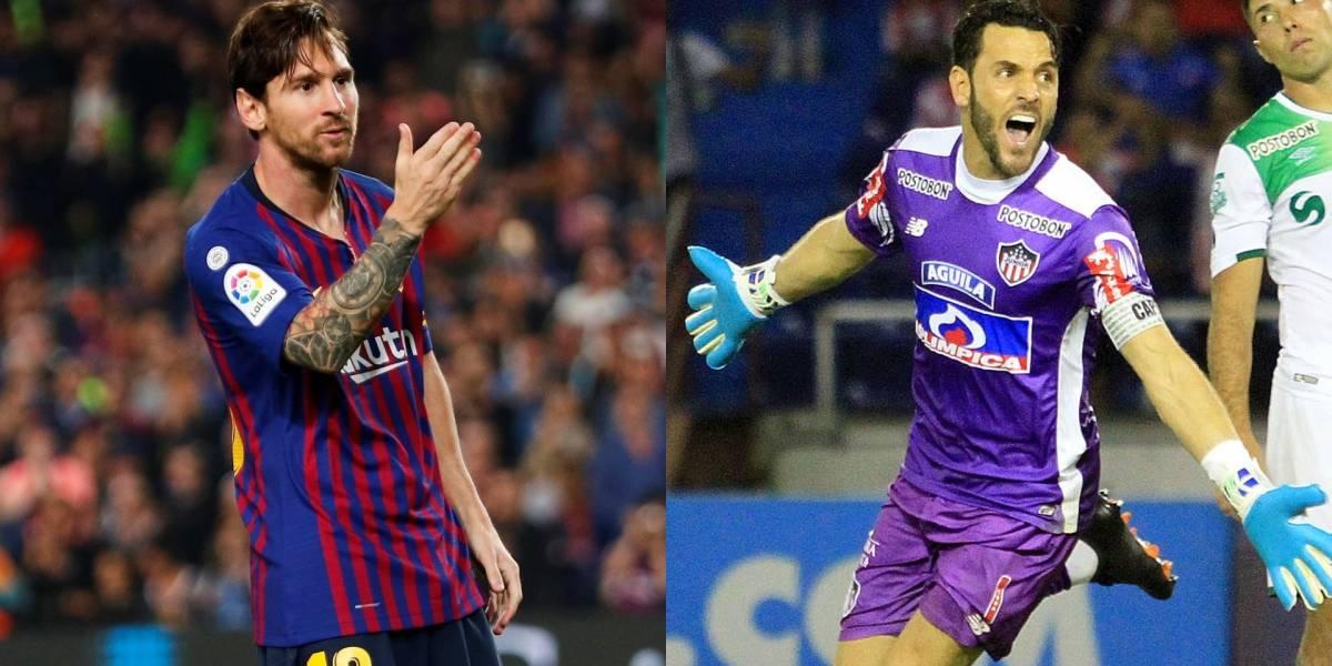 ¡Insólito! Sebastián Viera le pidió perdón a Messi y fue blanco de risas