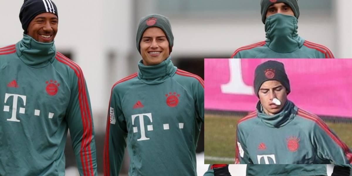 James no se entrena con el Bayern y dispara los rumores