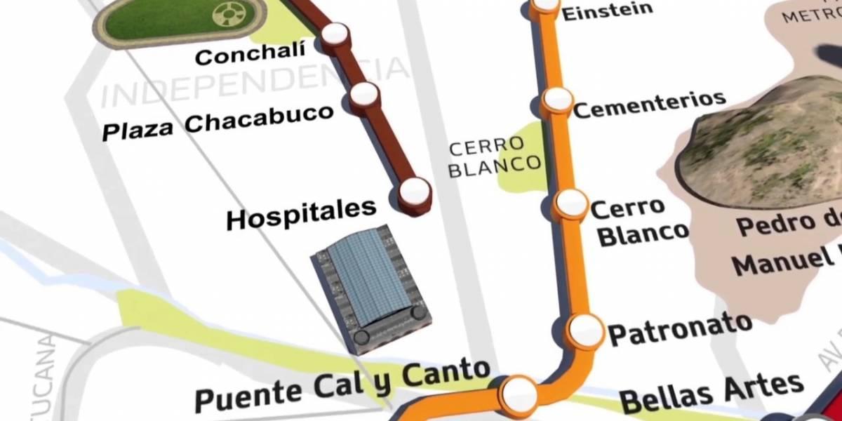 [ACTUALIZADO] Aquí te contamos cómo va andar la señal de tu celular en la línea 3 del Metro de Santiago