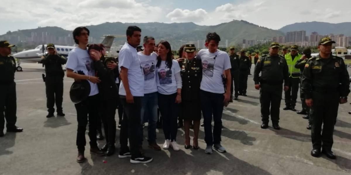La dolorosa llegada del cuerpo de Juan Esteban Marulanda, víctima del atentado en Bogotá