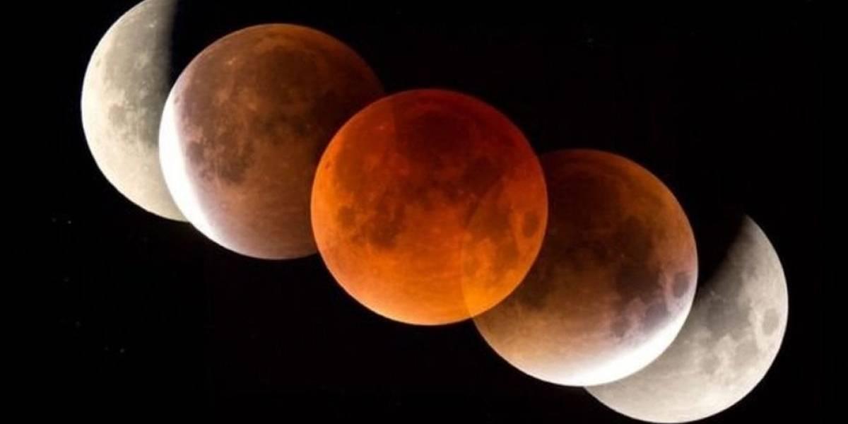 Estas imágenes y reacciones nos dejó la impresionante Superluna de sangre