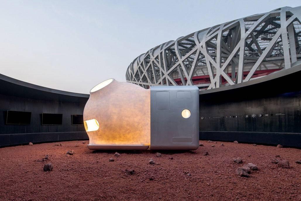 Xiaomi sorprende con un prototipo de casa para sobrevivir en Marte