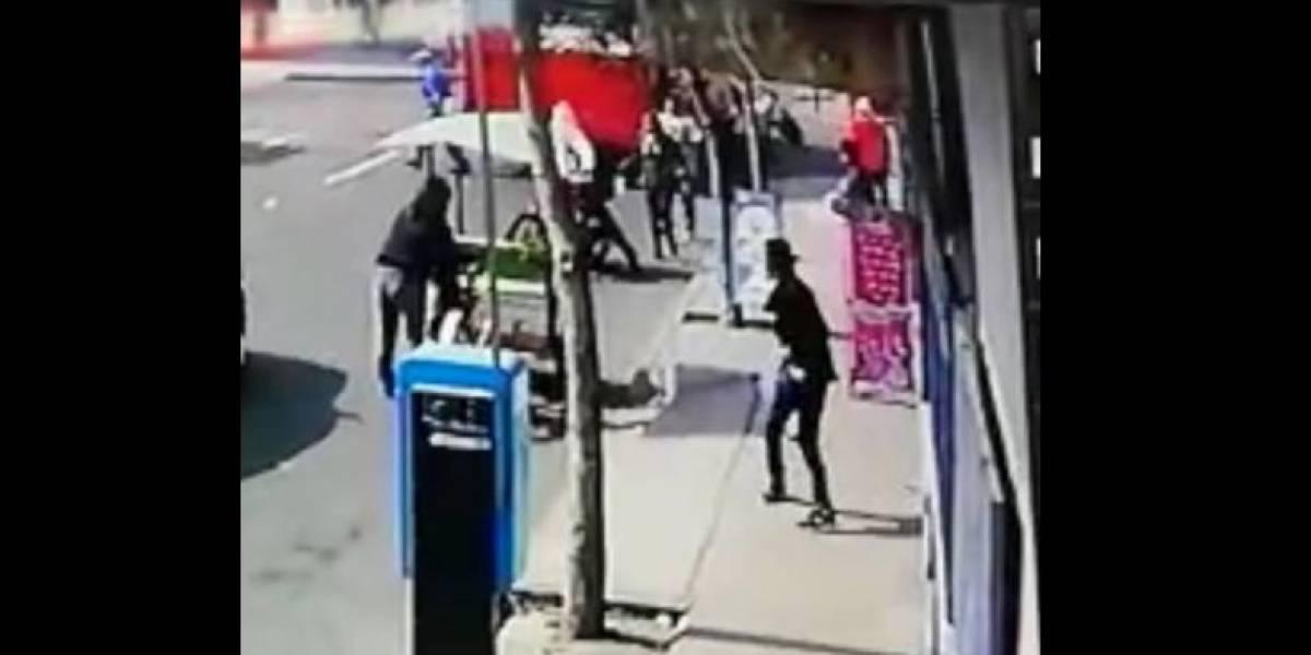 VIDEO. Cámara capta momento exacto de la explosión dentro de bus en zona 7
