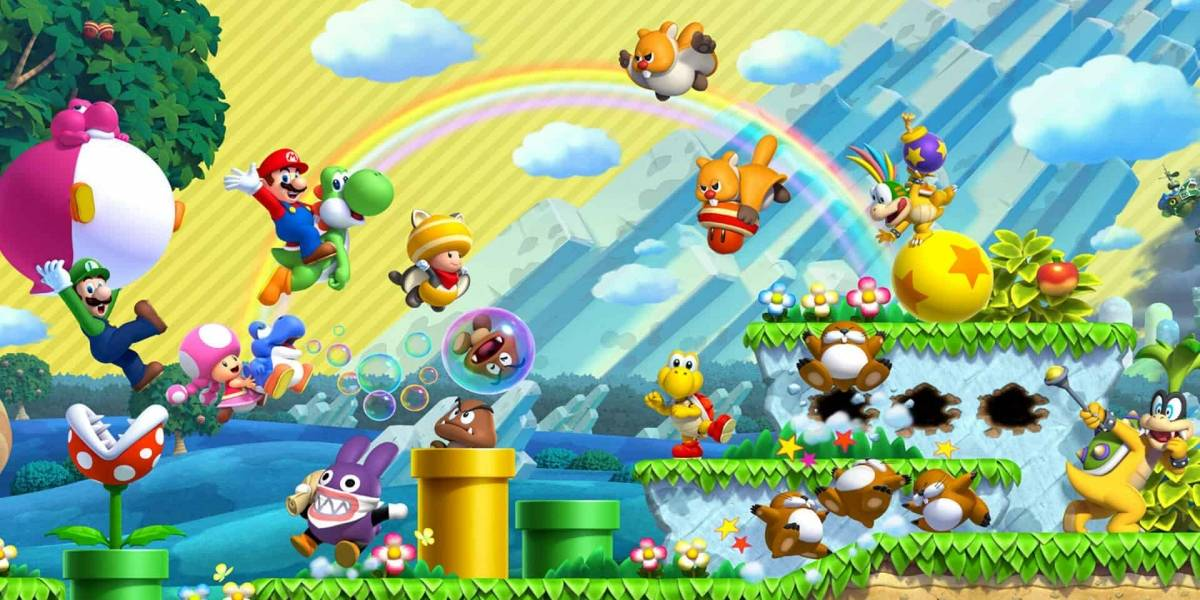 """""""New Super Mario Bros. U Deluxe"""": otro acierto de los remake"""