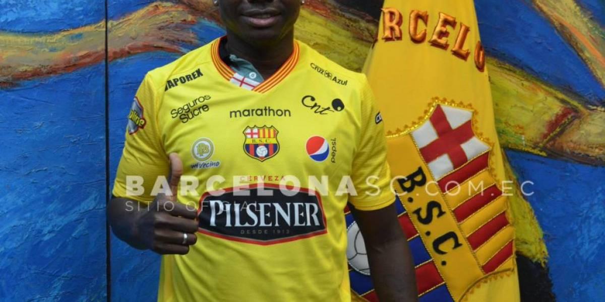 Osbaldo Lastra es el nuevo jugador de Barcelona SC