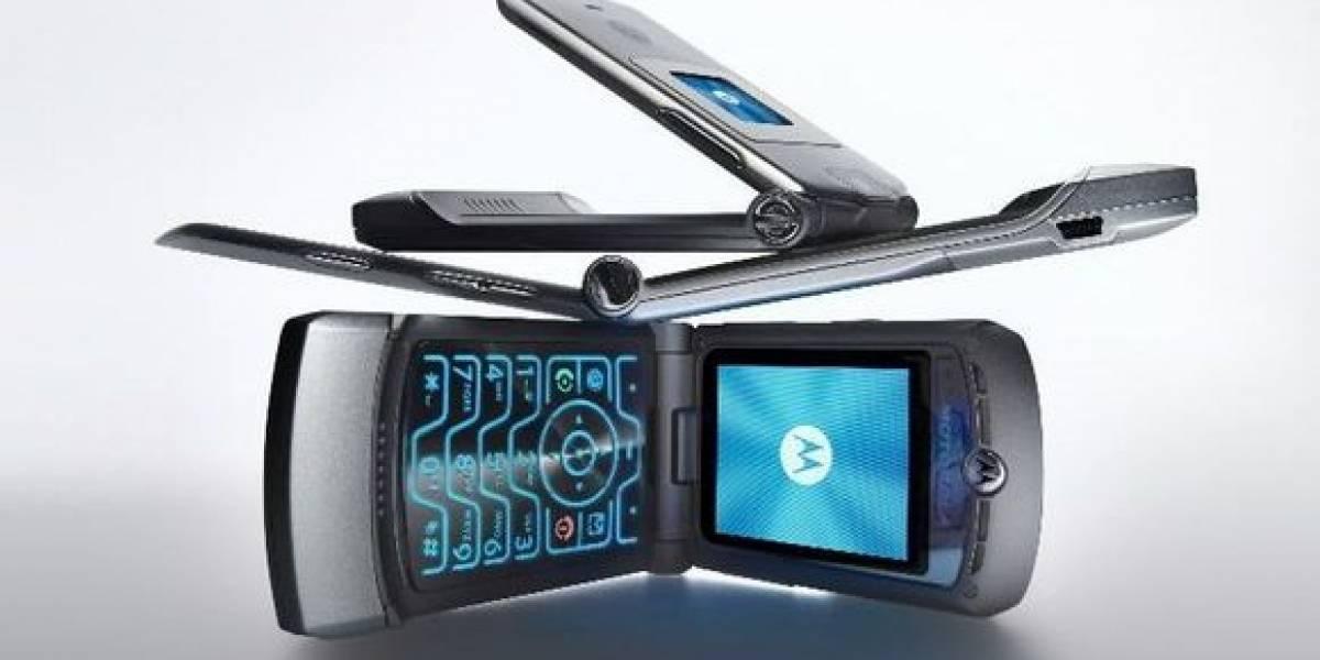 Así se vería el Motorola RAZR plegable y sí, es muy retro futurista